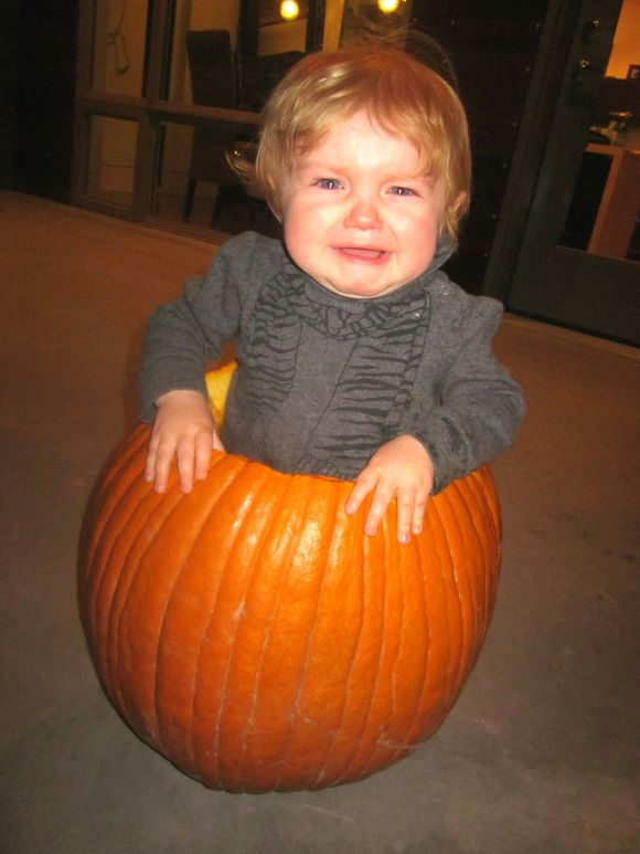 """baby photo fail"", halloween"